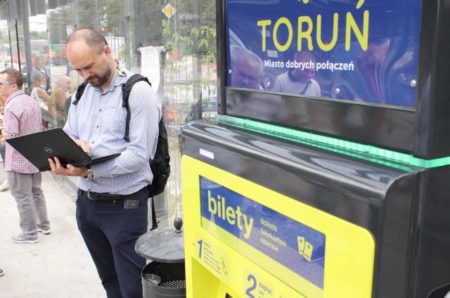 Pierwsze biletomaty pojawiły się w Toruniu w lipcu