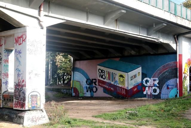 Nowy mural Lumpa w Szczecinie
