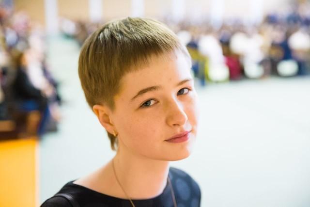 Agnieszka Szpakowska, laureatka sześciu konkursów wojewódzkich z PG nr 32 w Białymstoku
