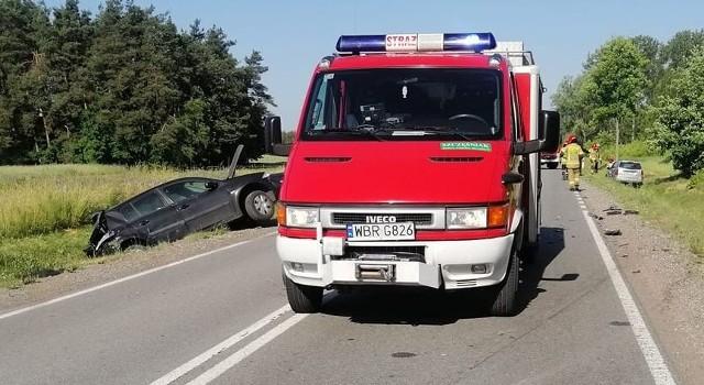 Na drodze numer 48 doszło do wypadku w Stromcu.