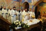 Supraśl. Ksiądz mitrat Aleksander Makal miał pogrzeb  w cerkwi św. Jana Teologa. Spoczął na cmentarzu parafialnym (zdjęcia)