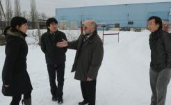 Przedstawiciele koreańskiej firmy pojawili się w Tułowicach w 2011 roku.