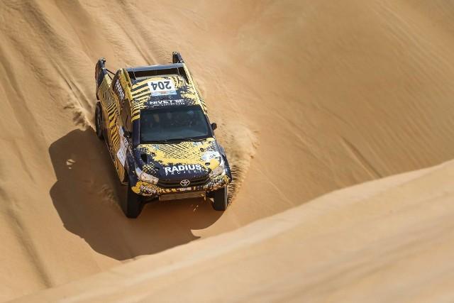 Aron Domżała w Maroku walczy o podium Pucharu Świata w rajdach terenowych.