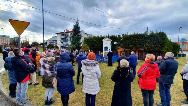 Zdewastowane kapliczki na osiedlu Wojska Polskiego oraz Biegonice