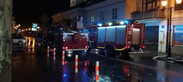 Do wybuchu gazu doszło w budynku przy ul. Armii Krajowej w Grójcu.
