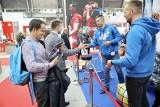 Znani sportowcy na targach PLASTPOL w Kielcach. Było spotkanie i rozgrzewka z gośćmi [ZDJĘCIA]