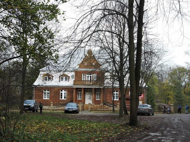 Szkoła Podstawowa w Przystani, gm. Olszewo-Borki