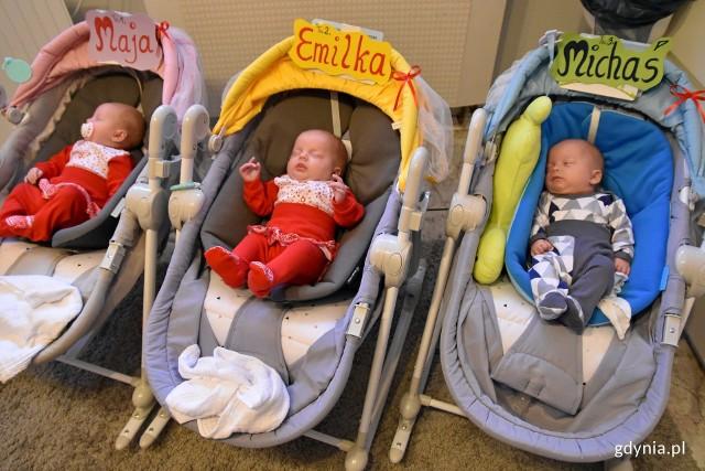 18 sierpnia 2019 roku w Uniwersyteckim Centrum Klinicznym na świat przyszły trojaczki - Maja, Emilia i Michał. Dzieci urodziły się już w siódmym miesiącu ciąży, w związku z czym pierwsze kilka tygodni swojego życia spędzili w szptalu. Obecnie znajdują się już w domu. Pod koniec października świeżo upieczonym rodzicom wizytę złożył m.in. prezydent Gdyni.
