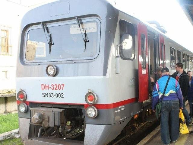 Pociąg osobowy do Szczecinka