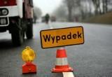 Motocyklista zderzył się z busem pod Białobrzegami