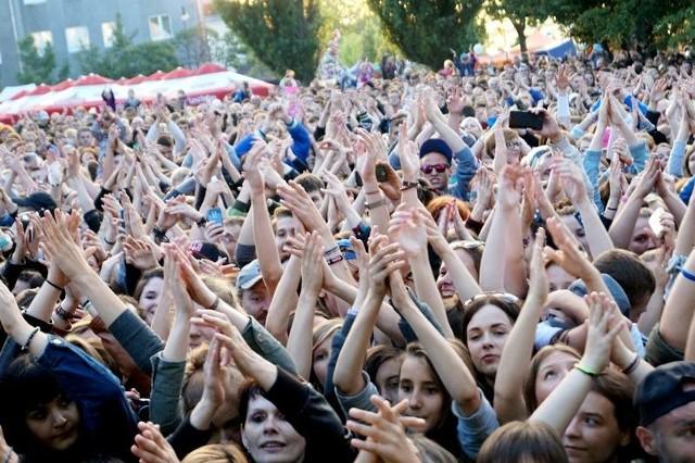 Tłumy włocławian uczestniczą w corocznym święcie miasta