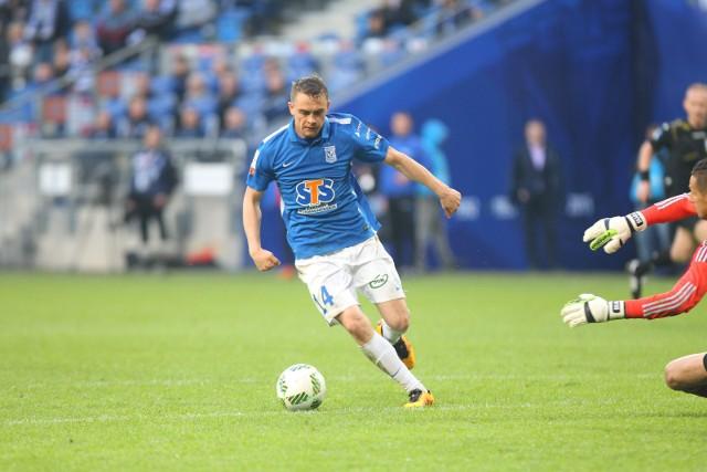 Maciej Gajos bardzo dobrze zagrał w ostatnim sparingu przeciwko Elanie. fot. grzegorz dembinski/polska press