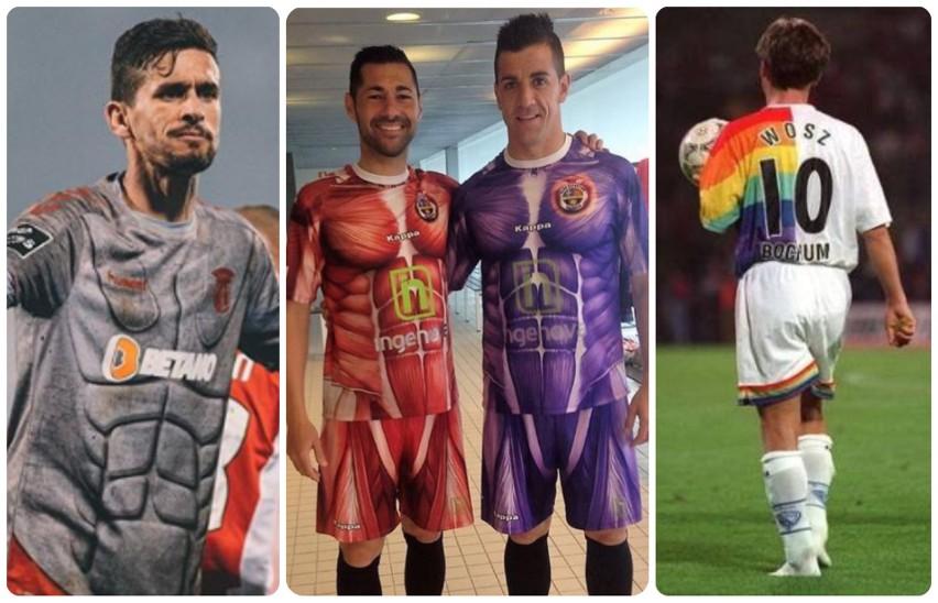 Projektanci koszulek piłkarskich lubią się wyróżniać, ale...