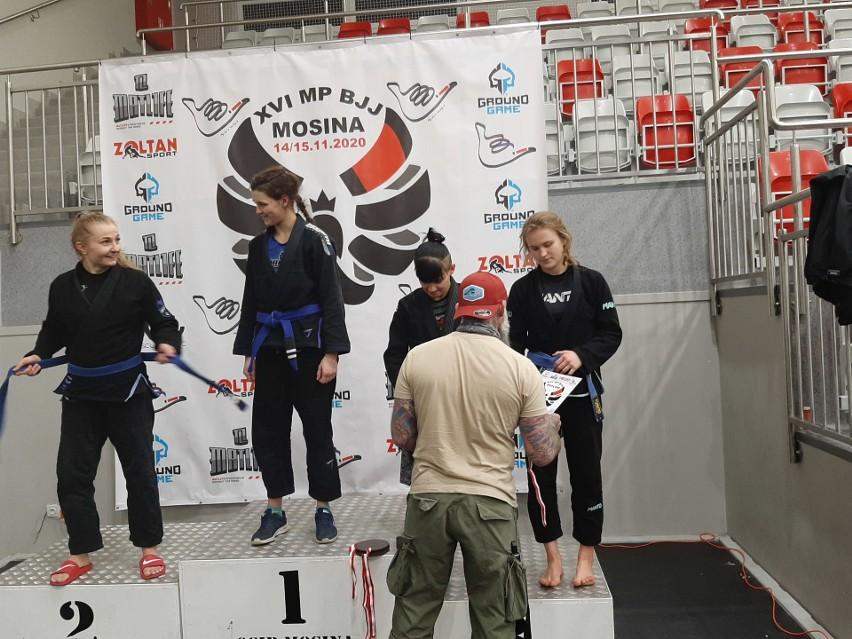 Mistrzostwa Polski w brazylijskim jiu-jitsu. Medale naszych zawodników [ZDJĘCIA, WYNIKI]