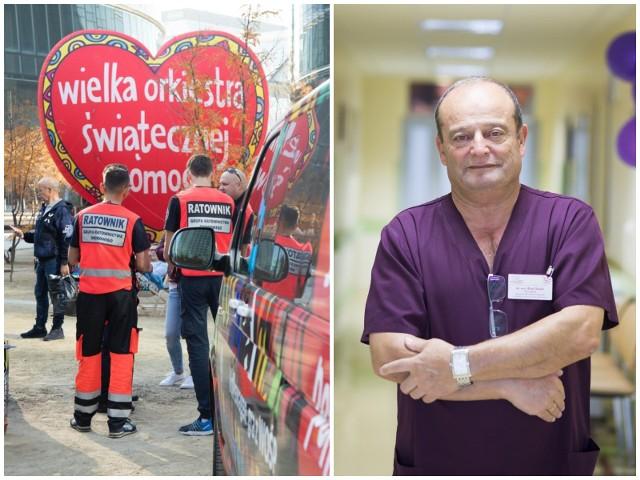 Riad Haidar od lat wspiera WOŚP. Sam jest szefem sztabu w bialskim  szpitalu