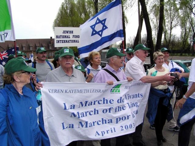 Marsz Żywych w obozie Auschwitz