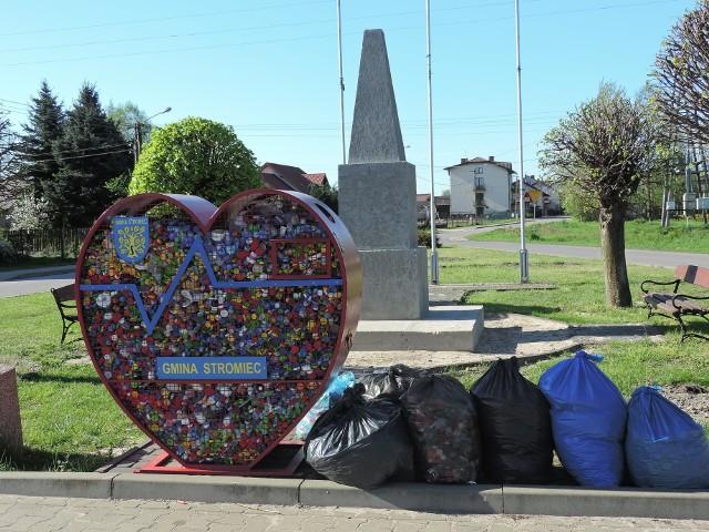 Serce na nakrętki mieszkańcy gminy Stromiec zapełnili już po raz kolejny w ciągu ostatnich miesięcy.