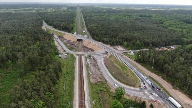 Wiadukt wraz z drogami dojazdowymi ma 840 m długości.