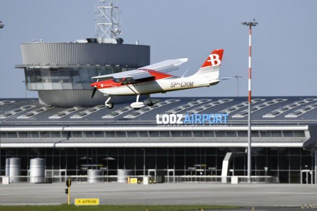 Samoloty Bartolini Air latają nad Łodzią od 2006 roku.