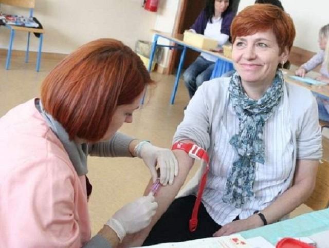 jak widać pobieranie krwi nie jest takie straszne. A może pomóc innym.