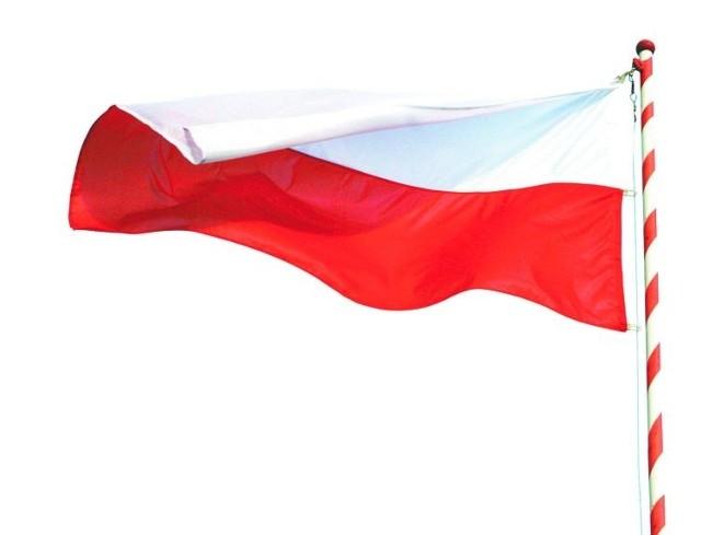Biało-czerwona to flaga Polski