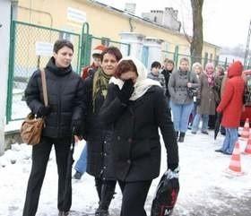 Ponad połowa pań zwolnionych z Coroplastu nie ma nawet prawa do zasołku. (fot. Tomasz Dragan)