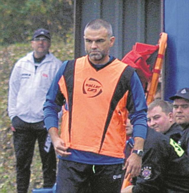 Trener Wojciech Ankowski