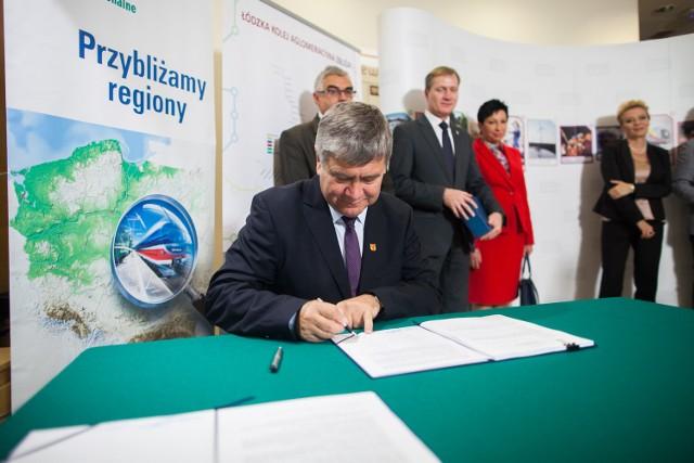 W poniedziałek podpisane zostało porozumienie dotyczące WBA. Podpis złożyli przedstawiciele samorządów i spółek kolejowych