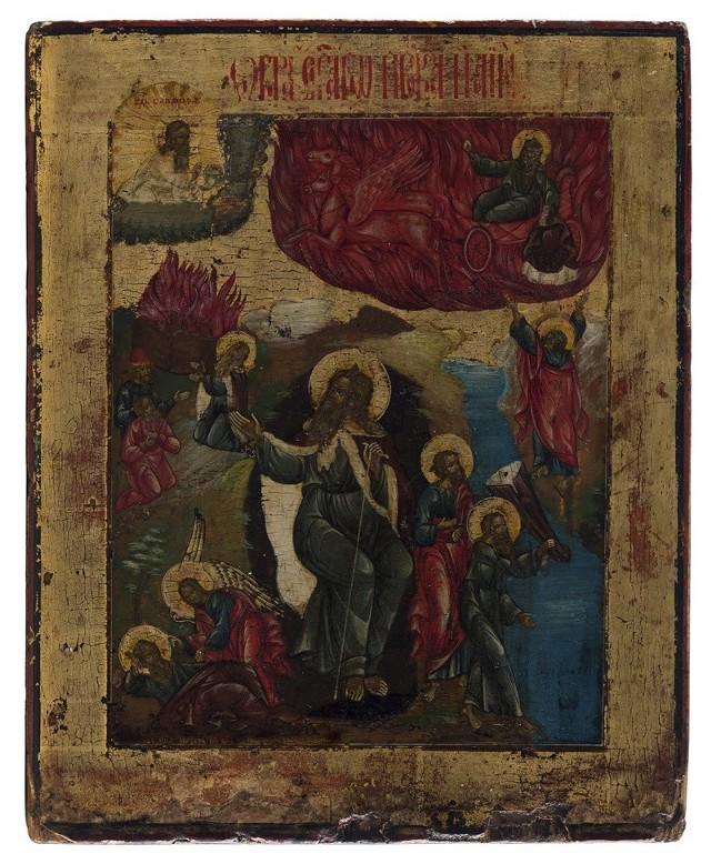 Ikona św. proroka Eljasza