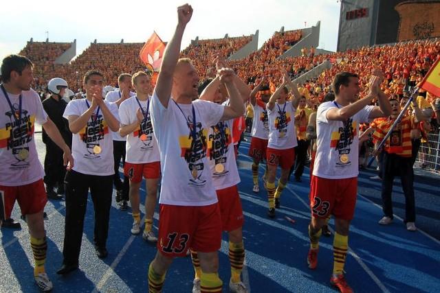 Jagiellonia zdobyła Puchar Polski w 2010 roku