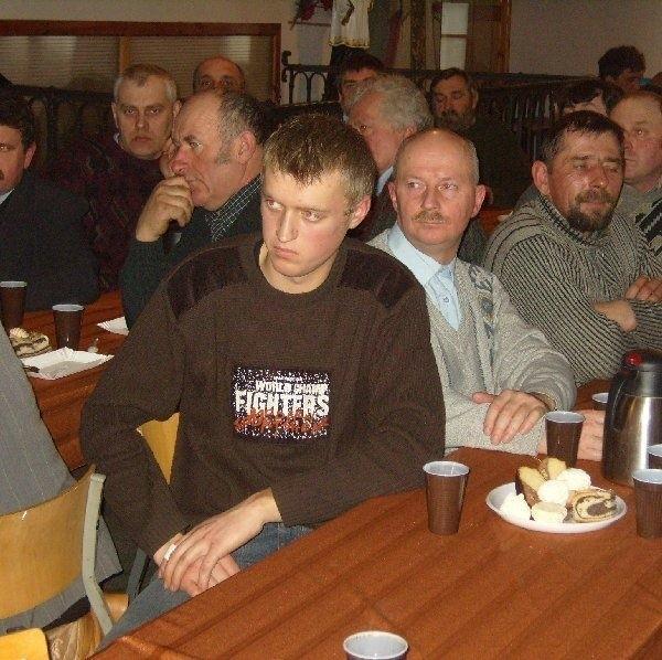 W spotkaniach klubu zawsze uczestniczyło  kilkudziesięciu rolników