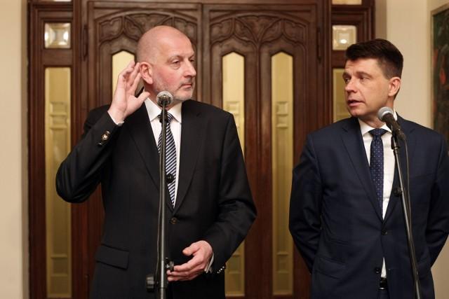 Rafał Dutkiewicz i Ryszard Petru