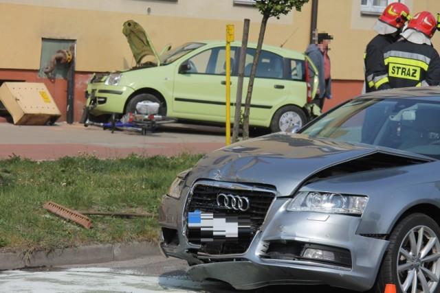 We wtorek, 23 kwietnia w godzinach popołudniowych doszło do wypadku z udziałem dwóch samochodów na ul. Konstytucji w Krotoszynie.