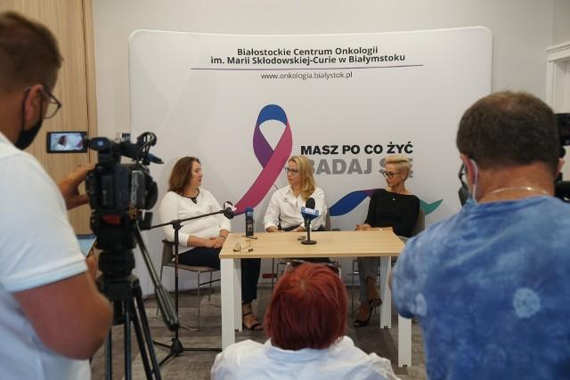 W ubiegłym roku w Białostockim Centrum Onkologii raka piersi rozpoznano u blisko 500 pacjentów, do 16 sierpnia b. r. rozpoznań jest już prawie 400