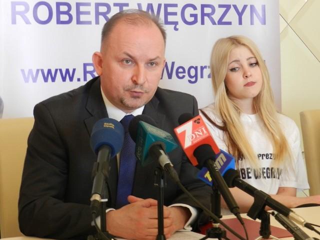 Robert Wegrzyn liczy na to, że wygra jesienne wybory.