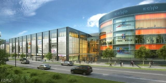 Tak będzie wyglądać Nowa Galeria Echo po rozbudowie. fot Echo Investment