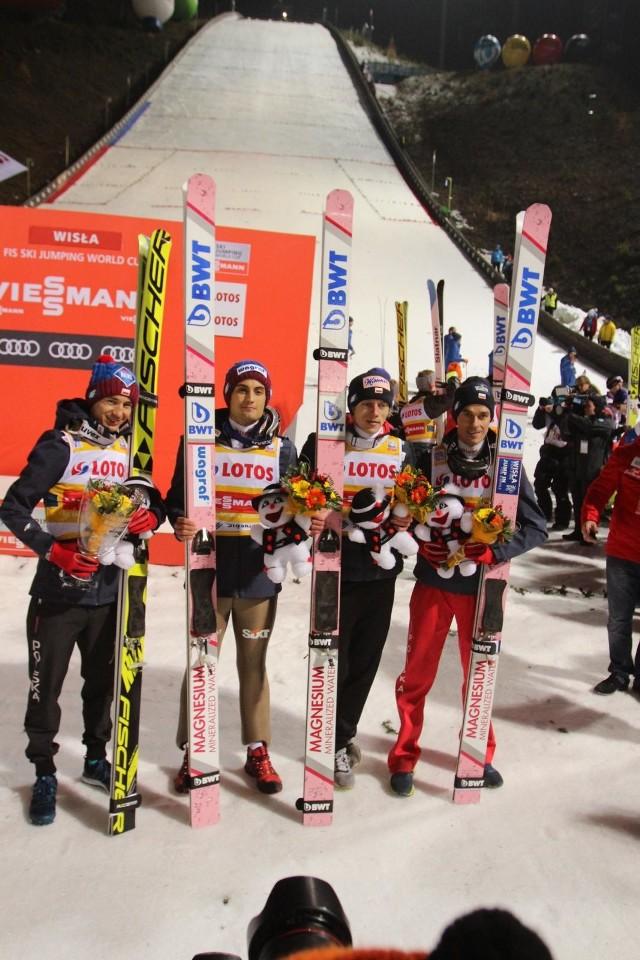 Polacy po raz drugi w tym sezonie zajęli 2. miejsce w konkursie drużynowym - wcześniej w Wiśle
