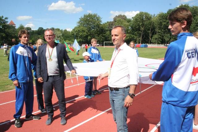 """Igrzyska Olimpijskie Sportowców Wiejskich w Sępólnie odbędą się w 2024 roku pod hasłem  """"Sępólno Krajeńskie – Paryż 2024""""."""