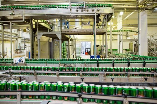 Rocznie Browar Łomża produkuje 1 mln hektolitrów piwa. Moce produkcyjne generuje 12 nowoczesnych tankofermentatorów cylindryczno-stożkowych – każdy o pojemności 2100 hektolitrów.