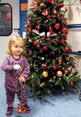 1,5-roczna Zuzia z Dobrodzienia wróciła po operacji serca do domu