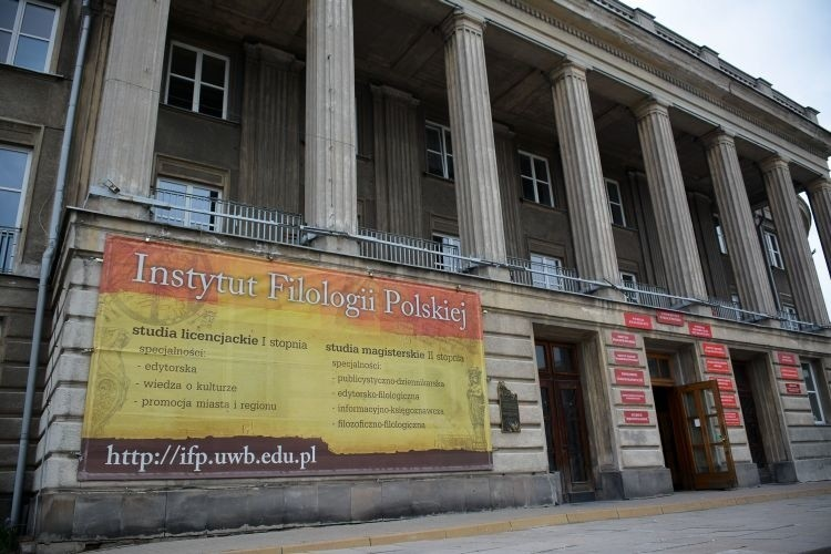 Budynek UwB to w przeszłości Dom Partii, czyli komitet wojewódzki PZPR