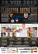 """Emocjonujące walki w klatce na gali MMA """"Gladiator Arena 8"""" w Słubicach"""