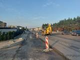 Trwa budowa buspasa na ul. Kolbego w Bydgoszczy. Kierowcy w grudniu pojadą nową jezdnią [zdjęcia]