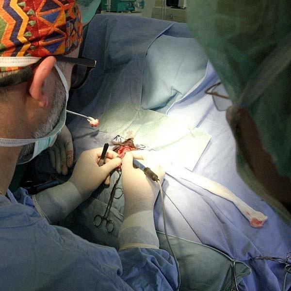 Lekarze musieli wyciąć dziecku część uszkodzonych jelit.