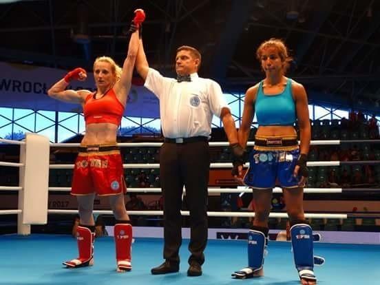 Marta Waliczek podczas Światowych Igrzysk Sportowych wywalczyła złoto w kick-boxiingu w formule K1
