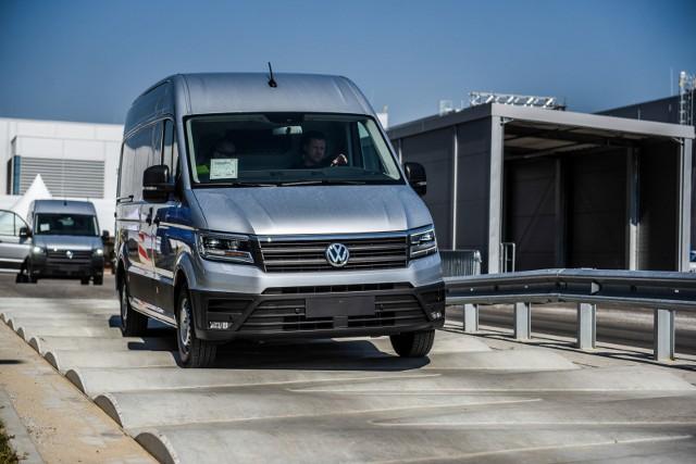 Współpraca Groclinu z VW AG obejmuje m.in. produkcję poszyć do VW Craftera produkowanego we Wrześni.
