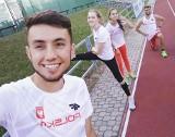 Szymon Żywko z AZS UMCS Lublin zajął drugą lokatę w biegu na 800 m podczas Grand Prix Sopotu im. Janusza Sidły
