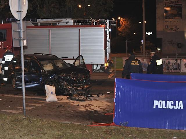 Do  wypadku doszło w październiku 2011 r.  na skrzyżowaniu ul. Dąbrowskiego i Tatrzańskiej