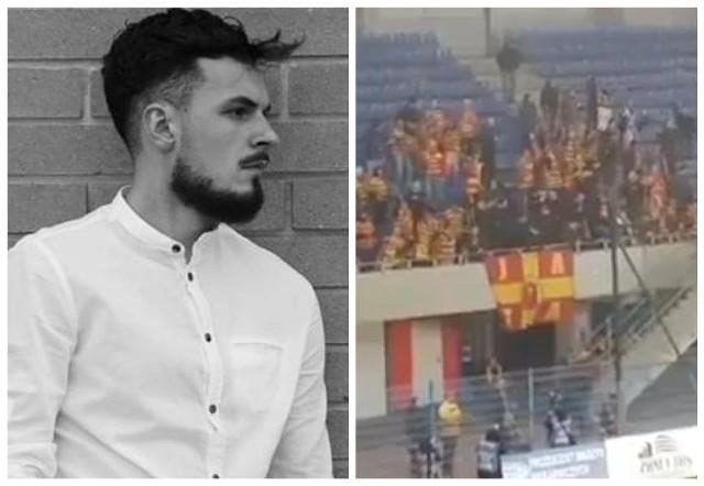 Kibic Jagiellonii Białystok spadł z trybuny w Gliwicach. Trwa zbiórka pieniędzy dla 22-letniego Patryka z Hajnówki