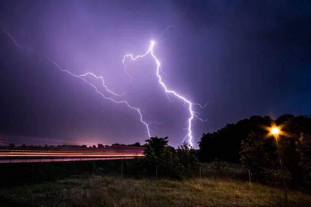 IMGW w Poznaniu ostrzega przed burzami z gradem